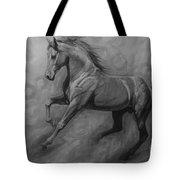 Fade To Grey Tote Bag