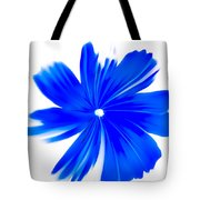 Faded Blue Tote Bag