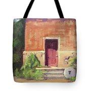 Faded Door Tote Bag