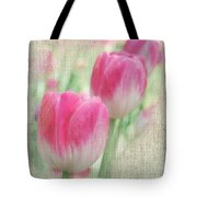 Faded Floral 8 Tote Bag
