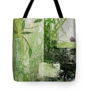 Faded Floral Tote Bag