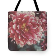 Faded Florals Tote Bag