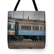 Faded Glory - B And O Railroad Car Tote Bag