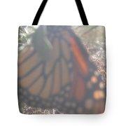 Faded Monarch  Tote Bag