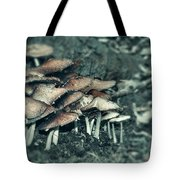 Faded Mushrooms Parade  Tote Bag