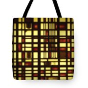 Faded Rectagles Tote Bag