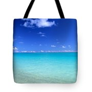 Fades To Turquoise Tote Bag