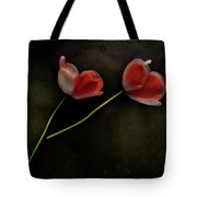 Fading Red Tote Bag