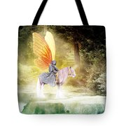 Fae In The Forest Tote Bag