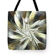 Faintly Flowered Tote Bag