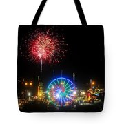 Fair Fireworks Tote Bag