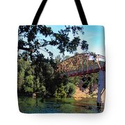 Fair Oaks Bridge Tote Bag