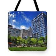 Fair Weather Center City Park Greensboro Tote Bag