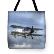 Fairey Swordfish II Ls326 Tote Bag