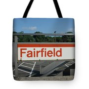 Fairfield Train Station  Tote Bag
