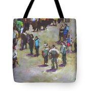 Fairgoers Tote Bag