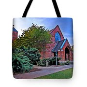 Fairhope Alabama Methodist Church Tote Bag