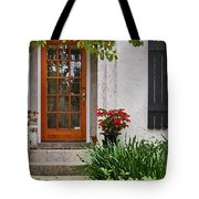 Fairhope Doorway Tote Bag by Michael Thomas