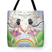 Fairies In Moonlight Tote Bag