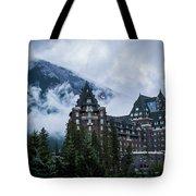 Fairmont Springs Hotel In Banff, Canada Tote Bag
