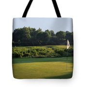 Fairway Hills - 3rd - A Bridge And Marsh To This Par 3 Tote Bag