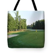 Fairway Hills - 4th - A Straight-in Par 4 Tote Bag