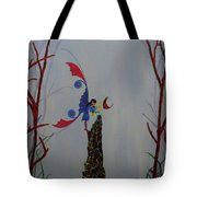 Fairy And Butterfly Tote Bag