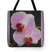 Fairy Blush Orchids Tote Bag