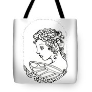 Fairy Cameo Tote Bag