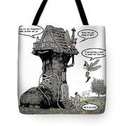 Fairy Comic Illustration 1 Tote Bag