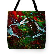 Fairy Dragonfly Ring Tote Bag