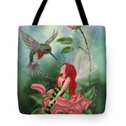 Fairy Dust Tote Bag by Becky Herrera