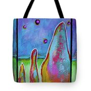 Fairy Floss Field Tote Bag