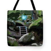 Fairy In The Wood Tote Bag