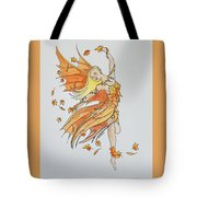 Fall Fairy Tote Bag