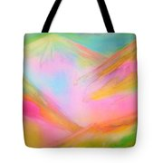 Fairy Land And Magic Mountains. To Roerich Tote Bag