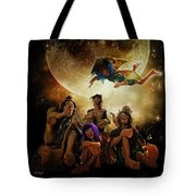 Fairy Night Chat Tote Bag