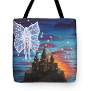 Fairy Takes The Key Tote Bag