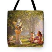 Fairy Tales Tote Bag by Greg Olsen