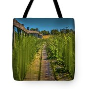 Fairy's View #h5 Tote Bag by Leif Sohlman