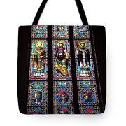 Faith In Stained Glass  Tote Bag