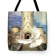 Faith Angel Tote Bag
