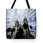 Faith Arizona Tote Bag
