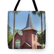 Faith Chapel Tote Bag