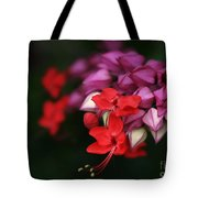 Faith Holds Fast Tote Bag