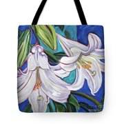 Faith Lily One Tote Bag