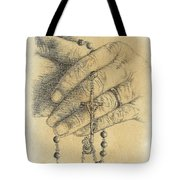Faith Never Grows Old Tote Bag