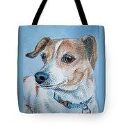 Beloved Dog Commission By Irina Sztukowski  Tote Bag