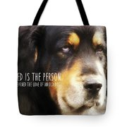 Faithful Quote Tote Bag