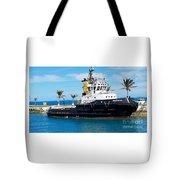 Faithfully Yours, Bermuda Tote Bag